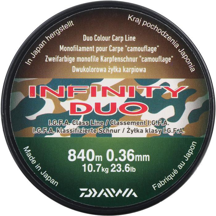 FIL pêche de la carpe INFINITY DUO CAMO 36/100 - 966551