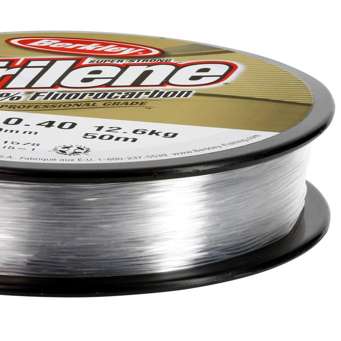 FIL PÊCHE TRILENE 100% FLUORO 50M 40/100