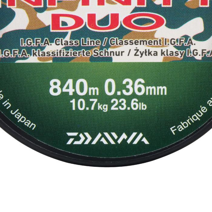 FIL pêche de la carpe INFINITY DUO CAMO 36/100 - 966561