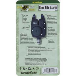 Bissanzeiger LED blau + Batterie