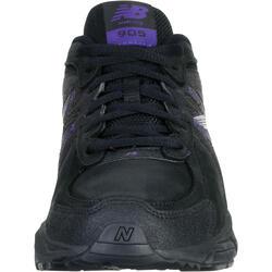 Damessneakers New Balance 905 voor nordic walking zwart/paars - 966830