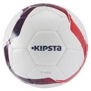 Football ball Size 5 F100 Hybrid - White