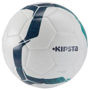 Nogometna žoga F100 Hybrid, velikost 4 – belo-zelena