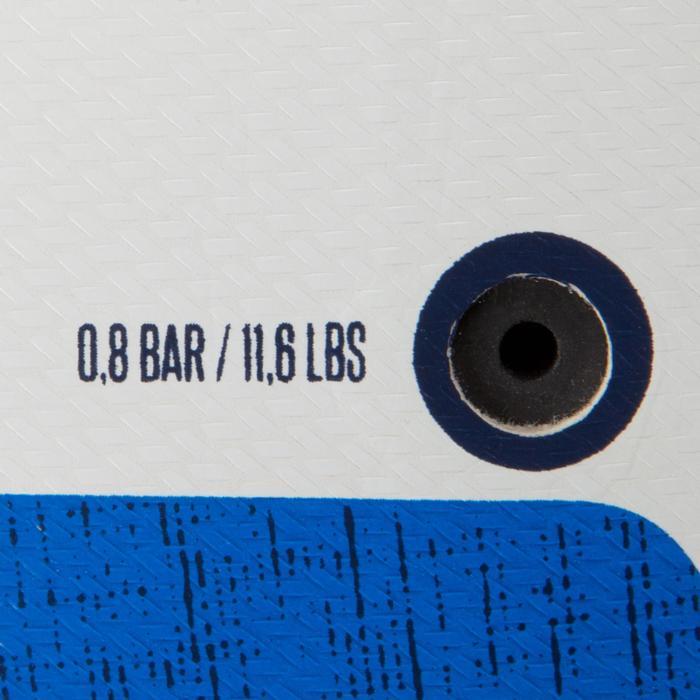 Fußball F100 Hybrid Größe3 weiß/blau