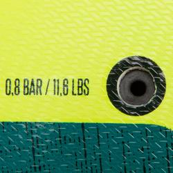Balón de fútbol F100 Hybride talla 5 amarillo