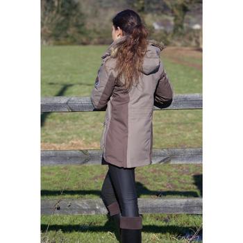 Pantalon imperméable chaud et respirant équitation femme KIPWARM - 96719