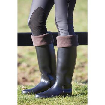 Pantalon imperméable chaud et respirant équitation femme KIPWARM - 96734