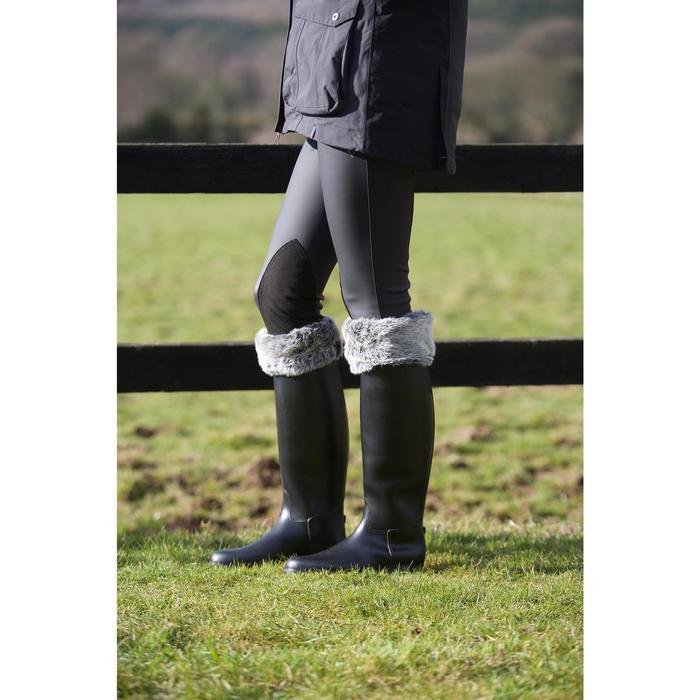 Pantalon imperméable chaud et respirant équitation femme KIPWARM - 96834