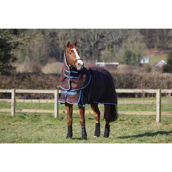 2 guêtres intégrales équitation cheval NEOPRENE noir - 96857