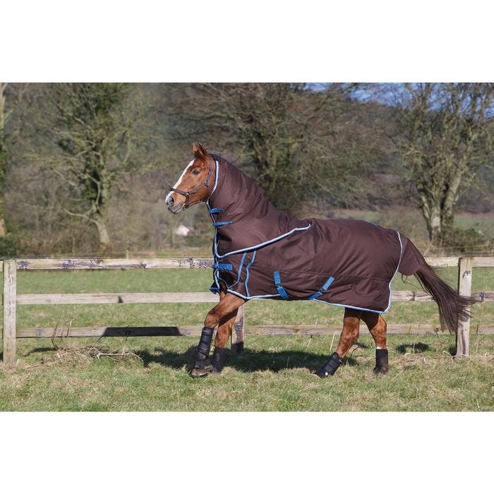2 guêtres intégrales équitation cheval NEOPRENE noir - 96860