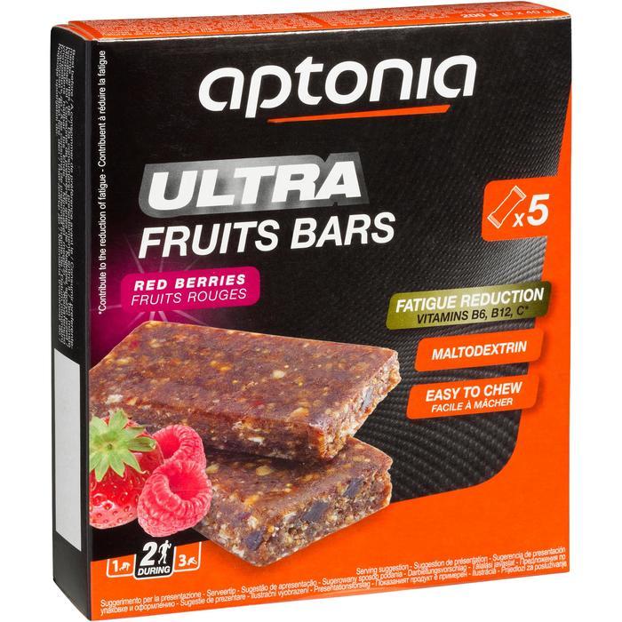Barre énergétique ULTRA BARS fruits rouges 5x40g - 969261