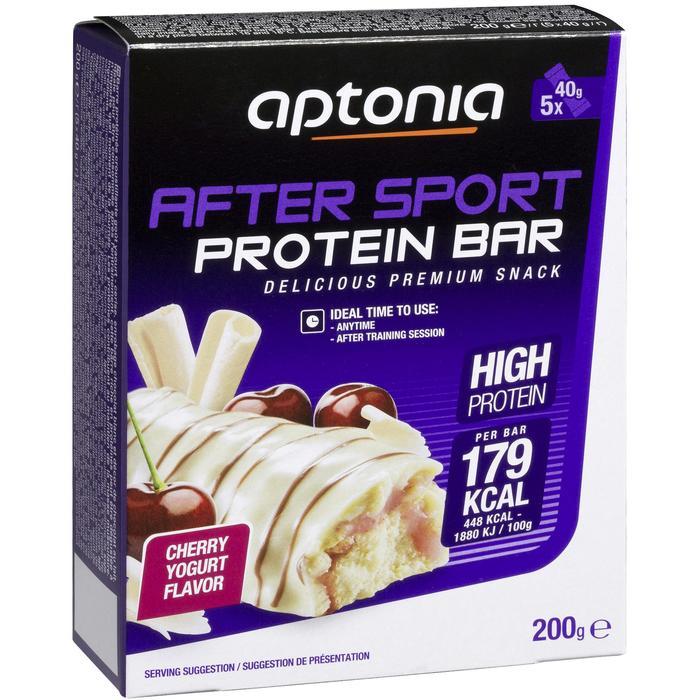 Barre protéinée AFTER SPORT cerise yaourt 5X40g - 969308