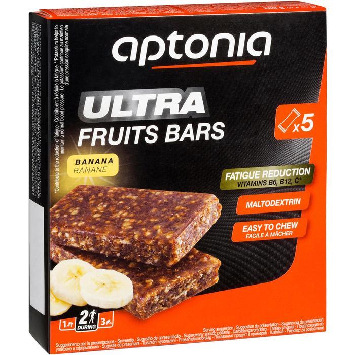 Barre énergétique ULTRA BARS fruits rouges 5x40g - 969465