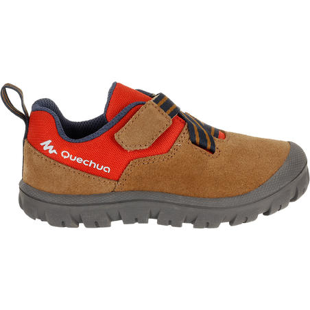 Arpenaz 300 Baby Hiking Shoes - Red