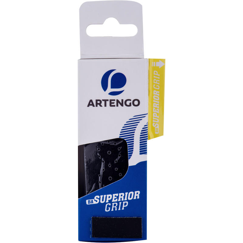 GRIP DE BADMINTON SUPERIOR GRIP x 1 NOIR