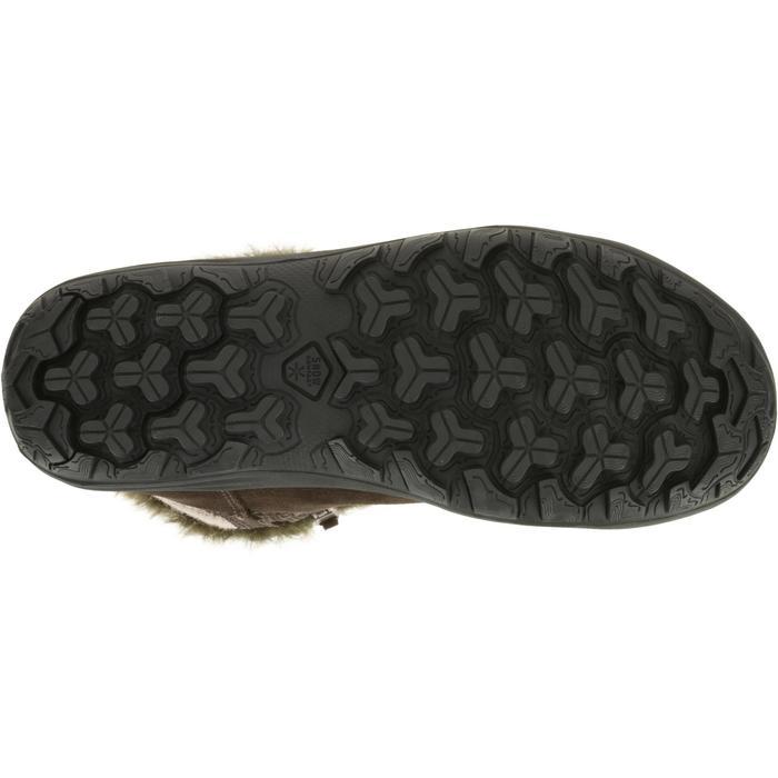 Laarzen voor wandelen in de sneeuw kinderen SH900 warm/waterdicht koffiebruin - 97120