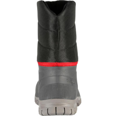 Чоловічі чоботи SH100 Х-Warm для зимового туризму - Чорні