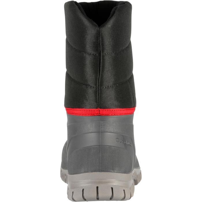 Bottes de randonnée neige Homme SH100 chaudes et imperméables Noir - 97143