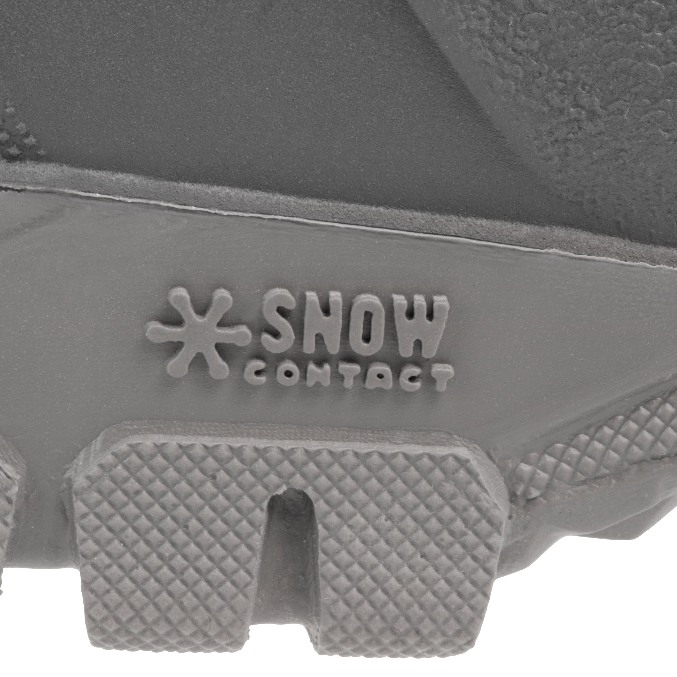Bottes de randonnée neige Homme SH100 chaude noires.