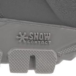 Bottes de randonnée neige Homme SH100 Chaudes noires.