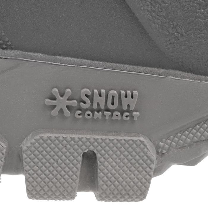 Botas de senderismo nieve Hombre SH100 warm negro.