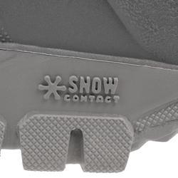 Bottes de randonnée neige Homme SH100 wam noires.