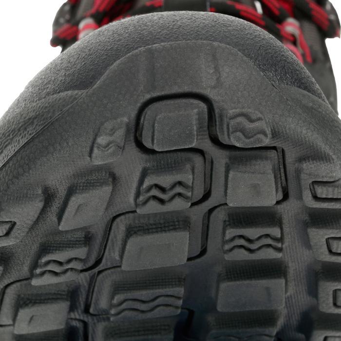 Chaussures de randonnée Nature femme Arpenaz 50 MID L noir rose. - 97222