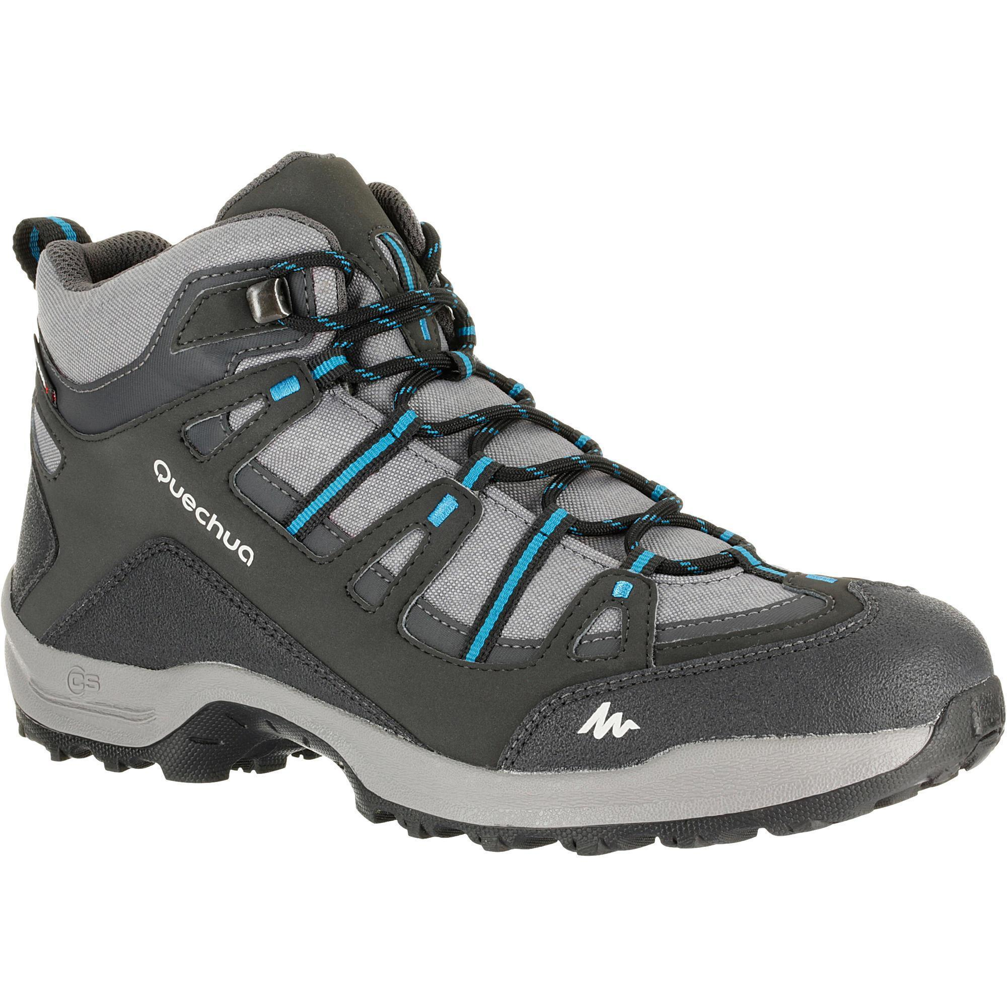 Quechua Arpenaz 100 Mid Waterproof Men S Hiking Boots