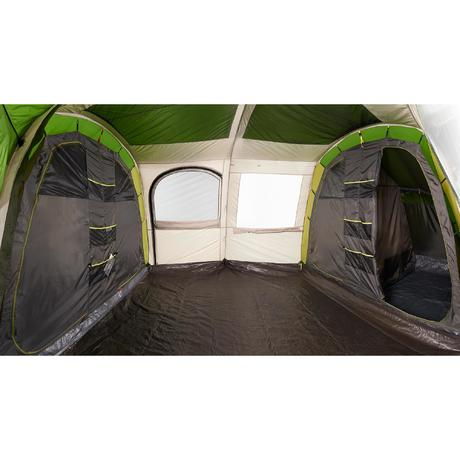 Tente de camping familiale arpenaz family 8 - Tente 4 places 2 chambres seconds family 4 2 xl ...