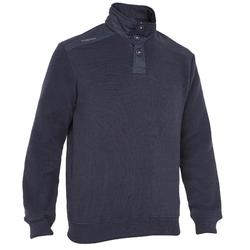 Pull chaud de voile homme SAILING 100 Navy