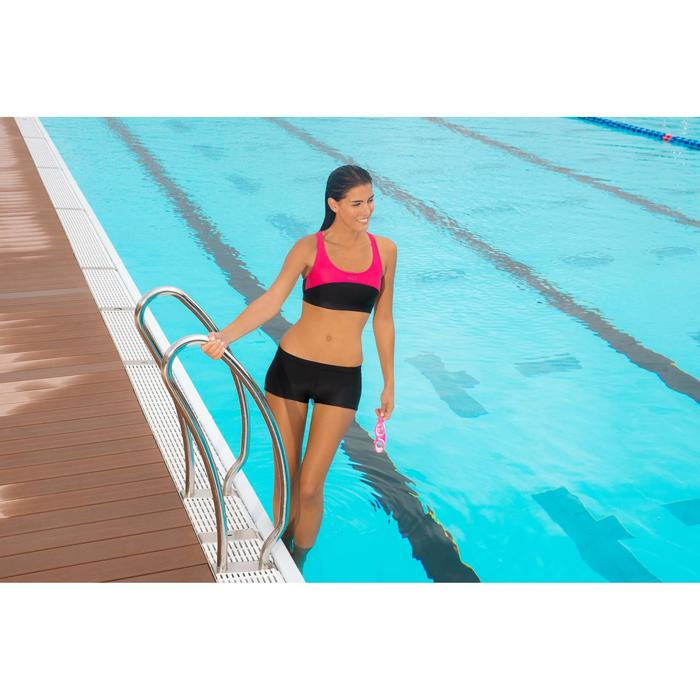 Bas de maillot de bain de natation femme shorty Vega noir - 975505