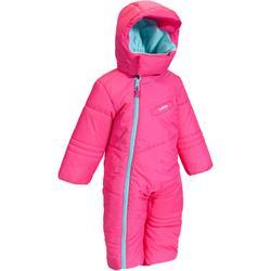 斜坡滑雪服 BABY 100-粉紅