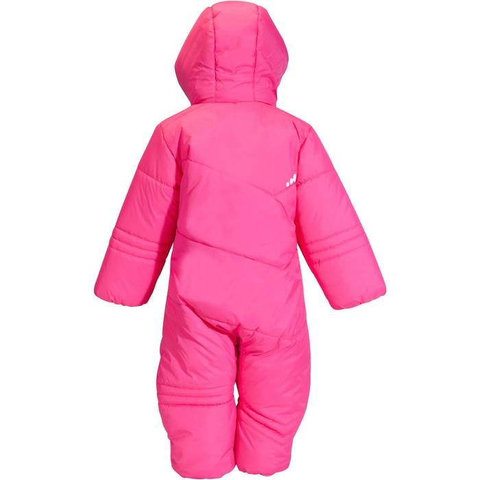 BABY 100 PINK SLEDGE SKI SUIT