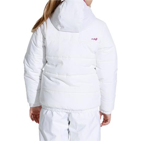 veste ski fille warm reverse blanc imprimee wedze. Black Bedroom Furniture Sets. Home Design Ideas