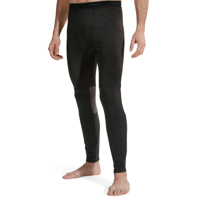 Men's Base Layer Ski Bottoms FreshWarm - Black