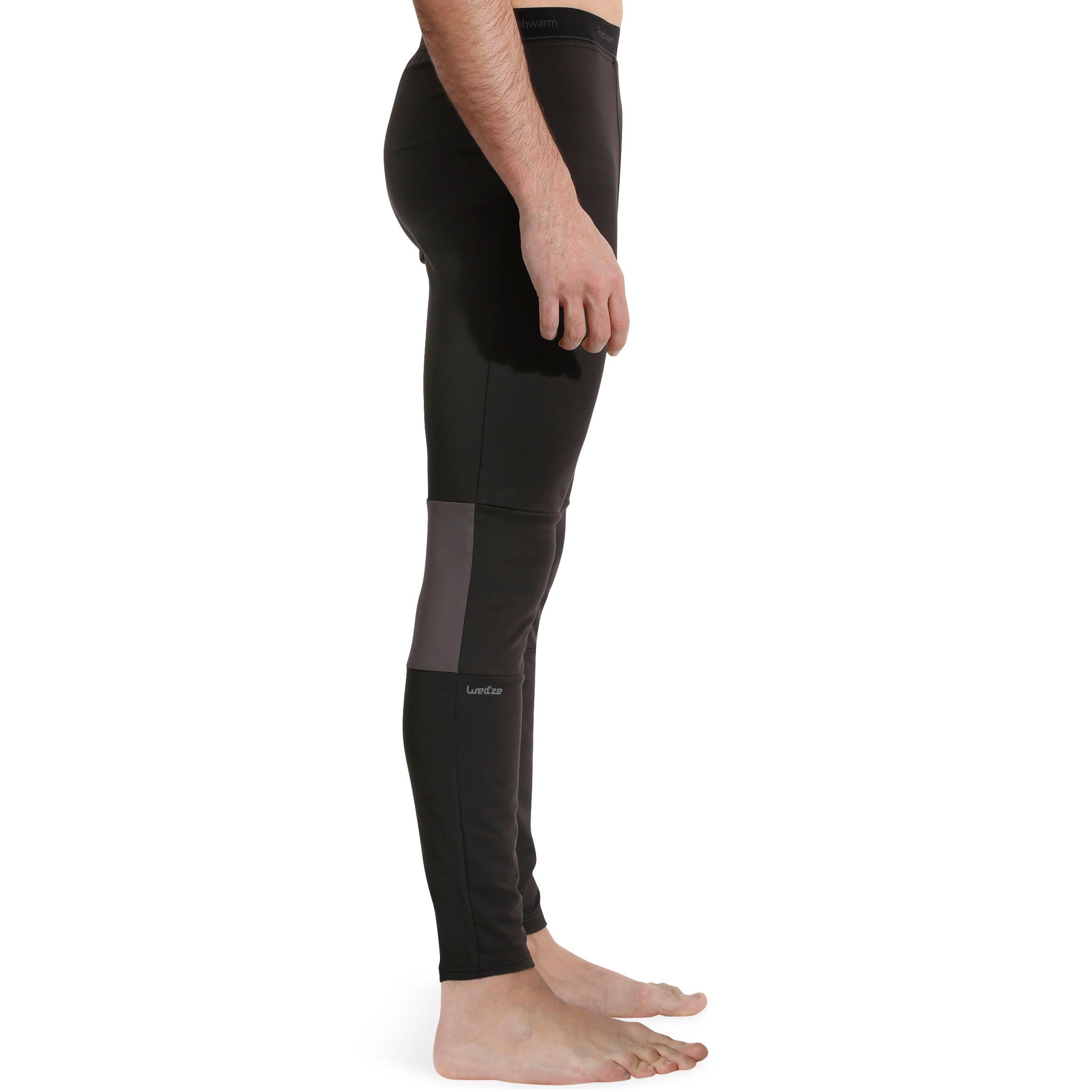 Freshwarm Men's Ski Underwear Bottoms - Black