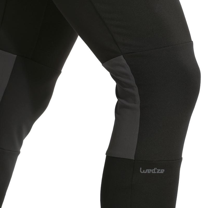 Men's Base Layer Ski Bottoms FreshWarm - Black