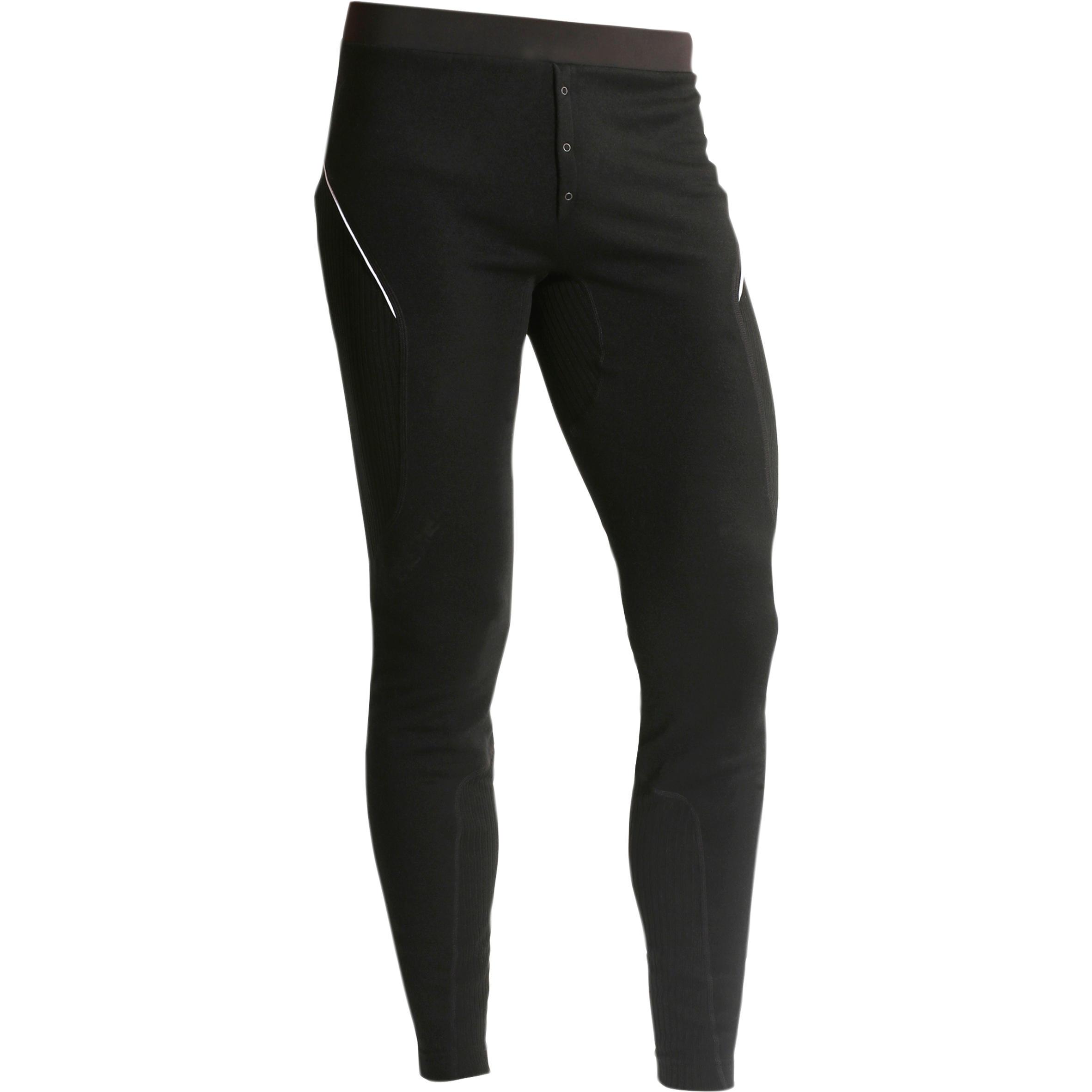 Pantalon Noir Ski Sous Homme Laine De Vêtement Xwarm D9Y2HEWI