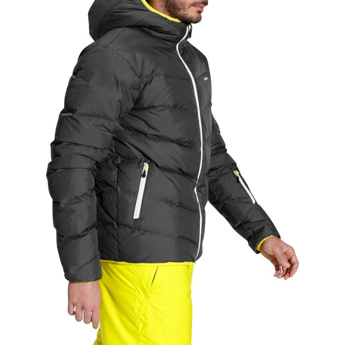 Ski-jas heren SKI-P JKT 500 Warm grijs