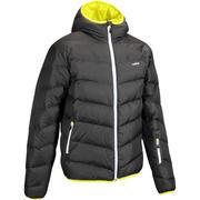 Siva moška smučarska jakna 500