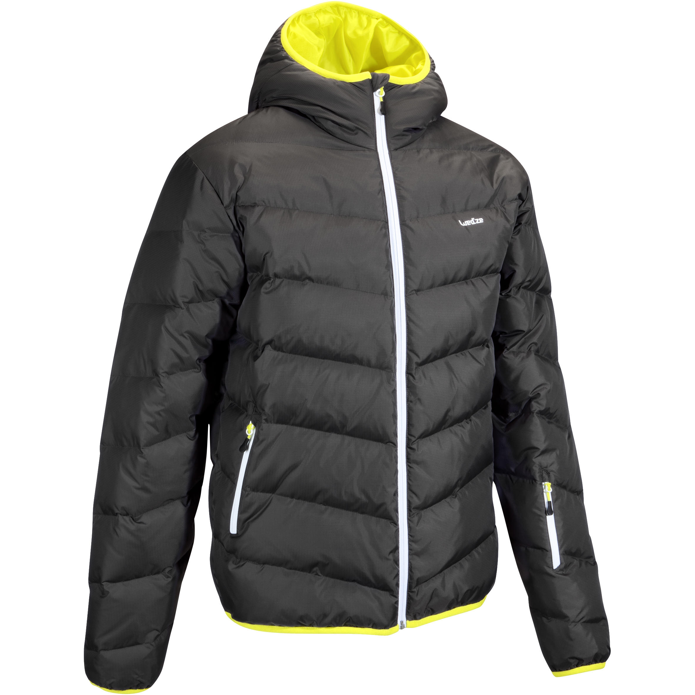 SKI-P 500 MEN'S WARM SKI JKT - GREY