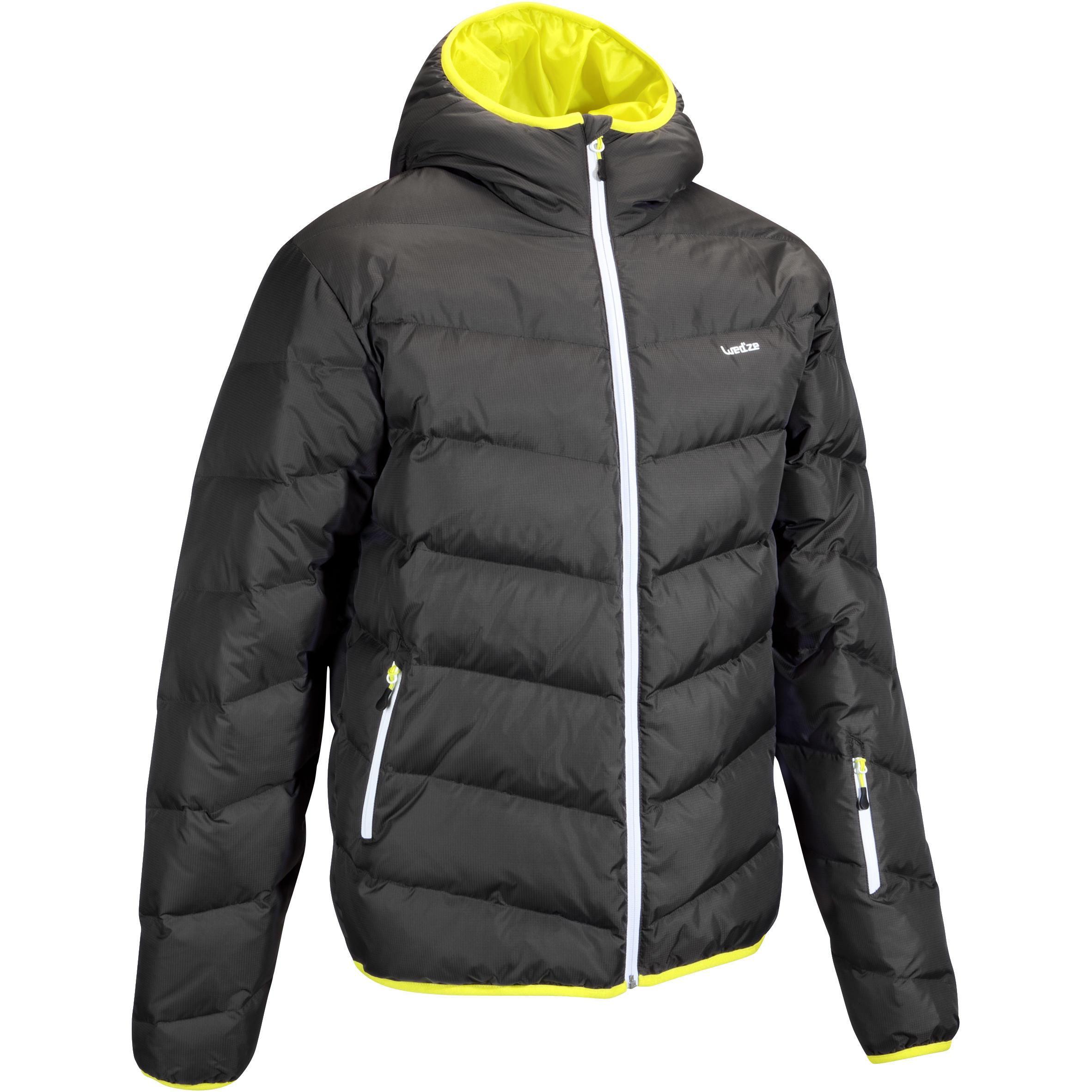 Herren Skijacke 500 Warm Herren grau | 03608449894968