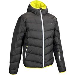 Dons ski-jas voor heren SKI-P JKT 500 Warm grijs