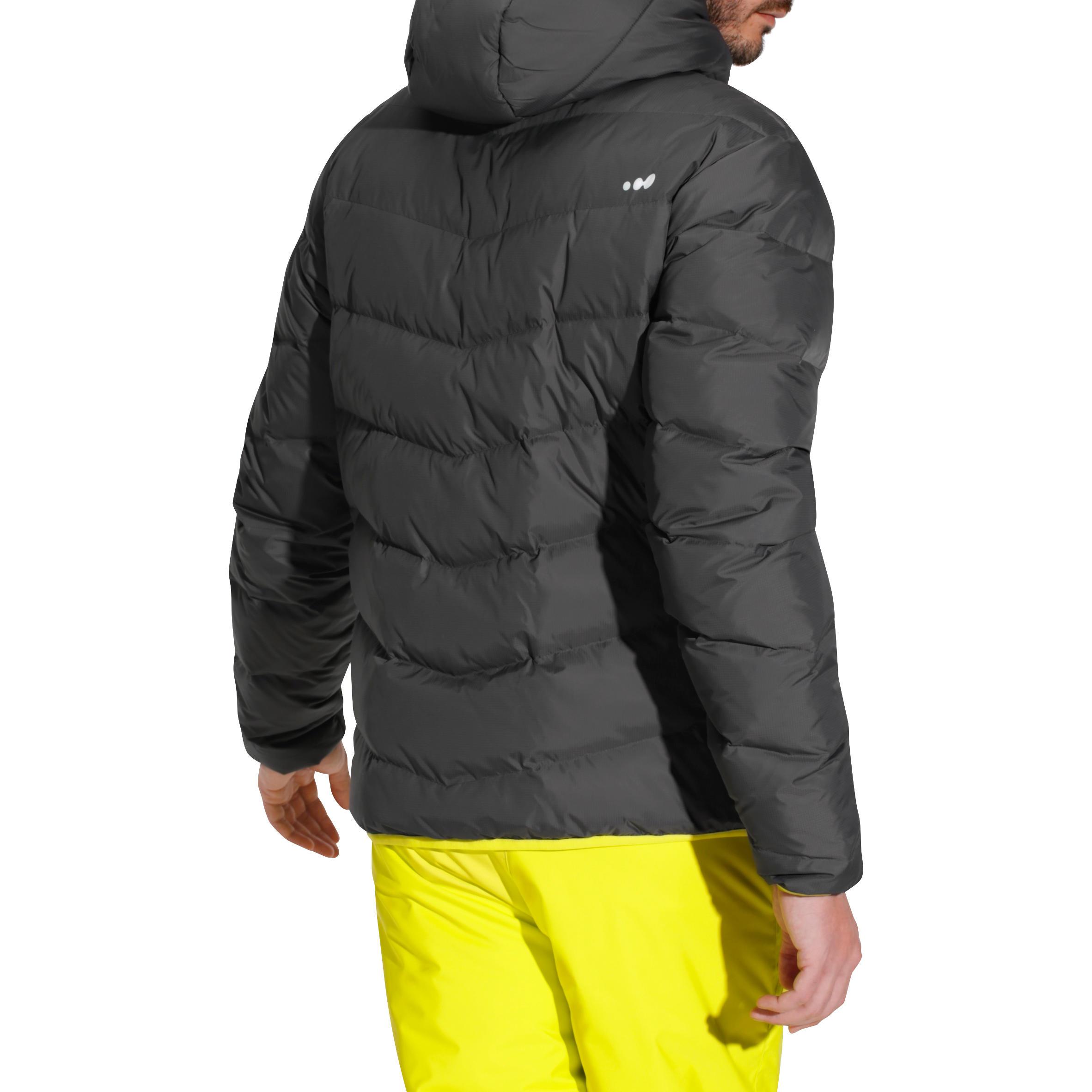 Ski Jkt P De 500 Grise Veste Warm Homme WI9bH2eEDY