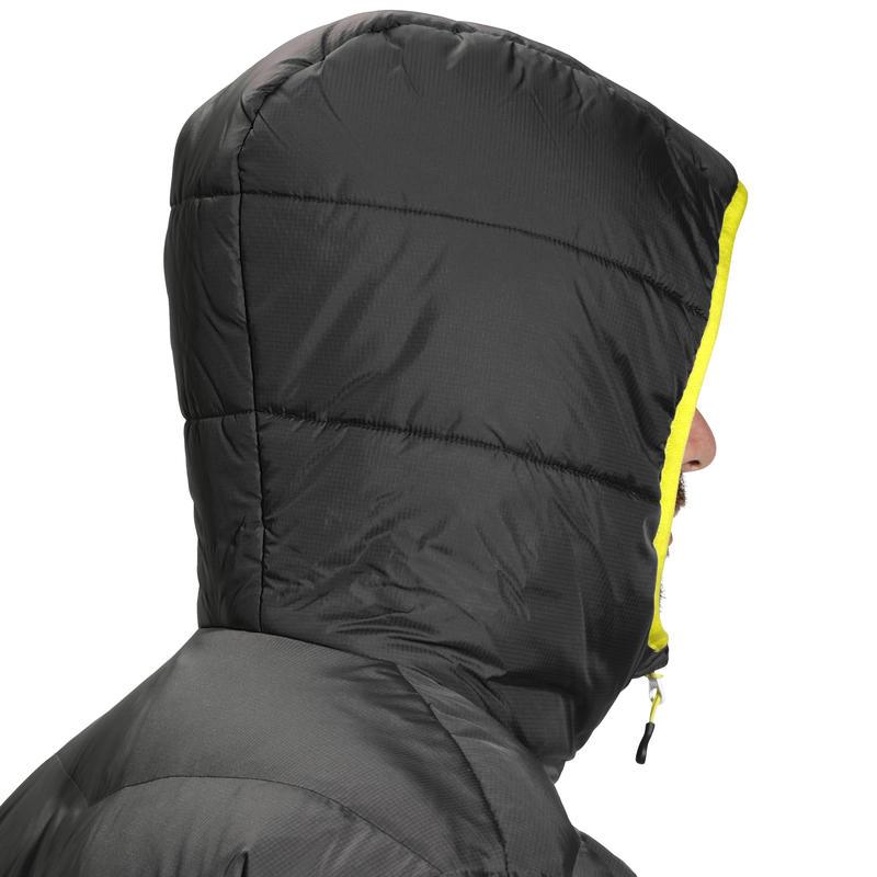 SKI-P 500 MEN'S WARM SKI JKT - GREY