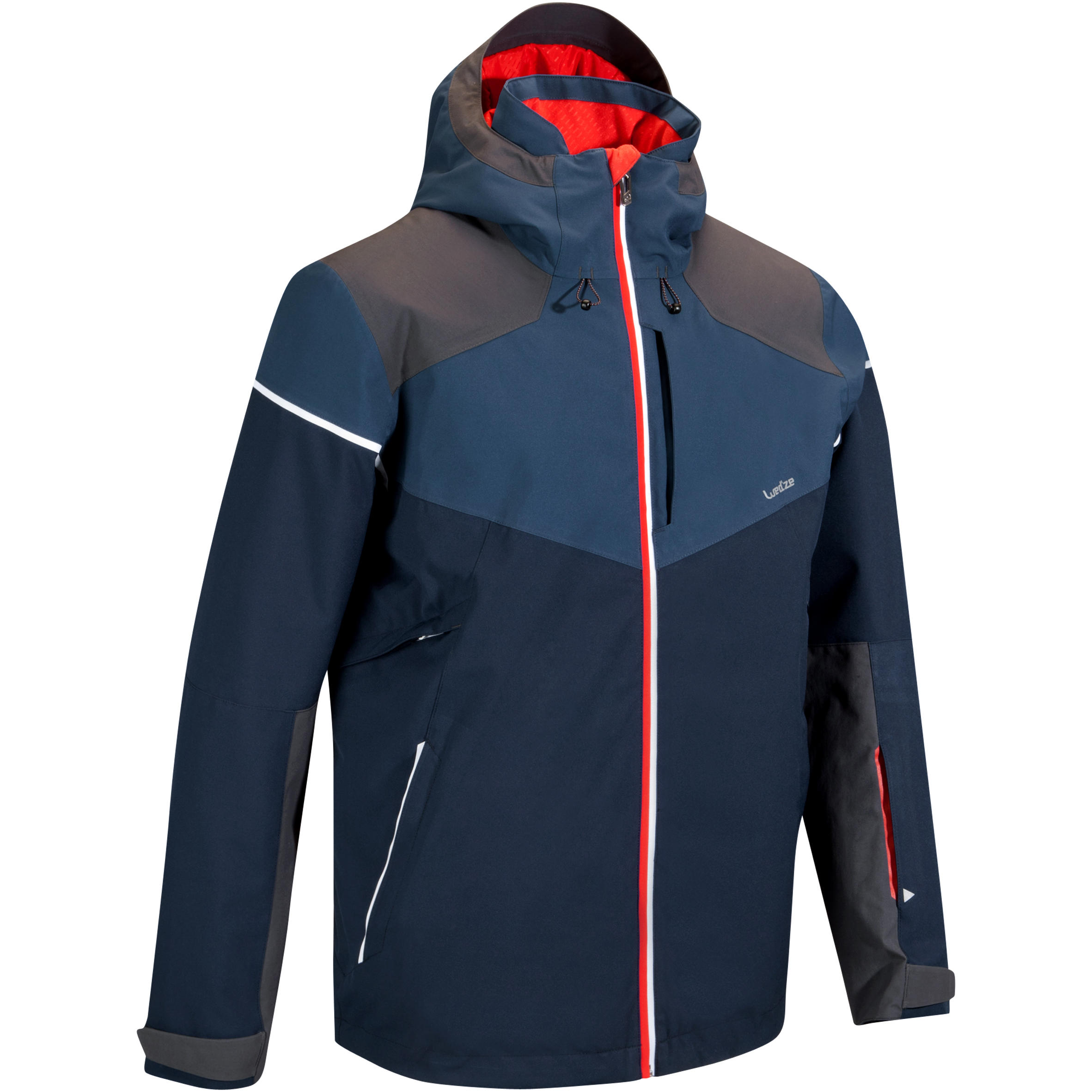 MEN'S DOWNHILL SKI JACKET 580, NAVY