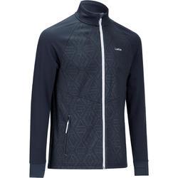 500 Men's Wool Skiing Liner Jacket - Blue