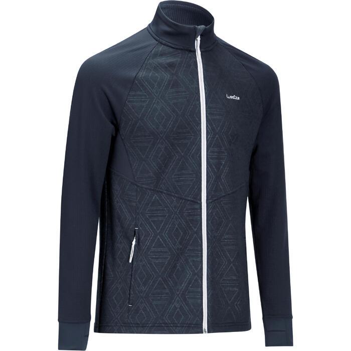 Sous-veste de ski Laine homme 500 Bleue - 977952