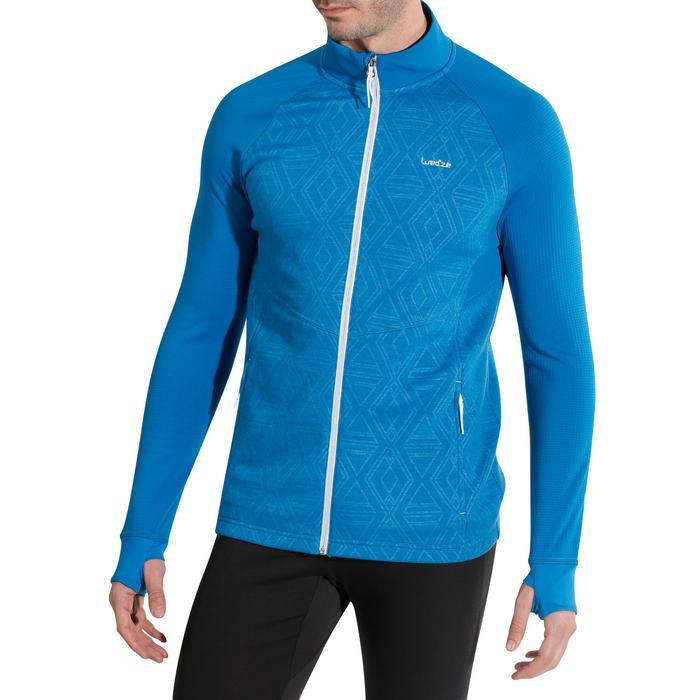 Sous-veste de ski Laine homme 500 Bleue - 978021