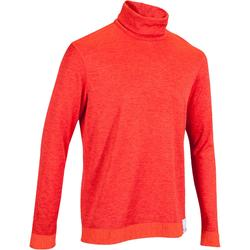 Skiunterwäsche Funktionsshirt 2Warm Herren orange
